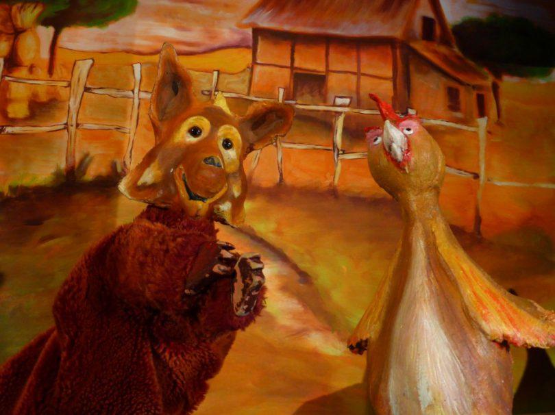 Goupil et la poule