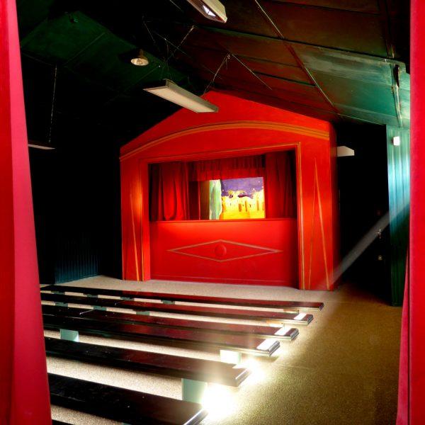 Le théâtre de marionnettes du parc G. Brassens