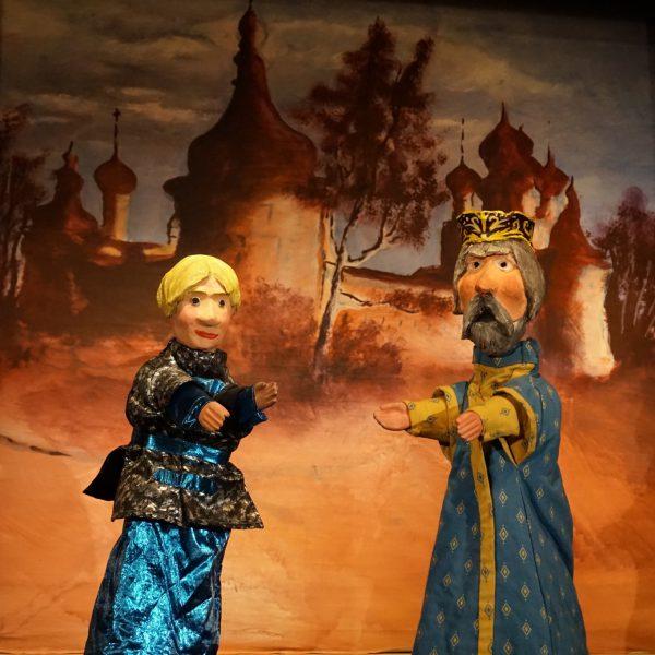 Le prince Ivan et le Tsar Démian.