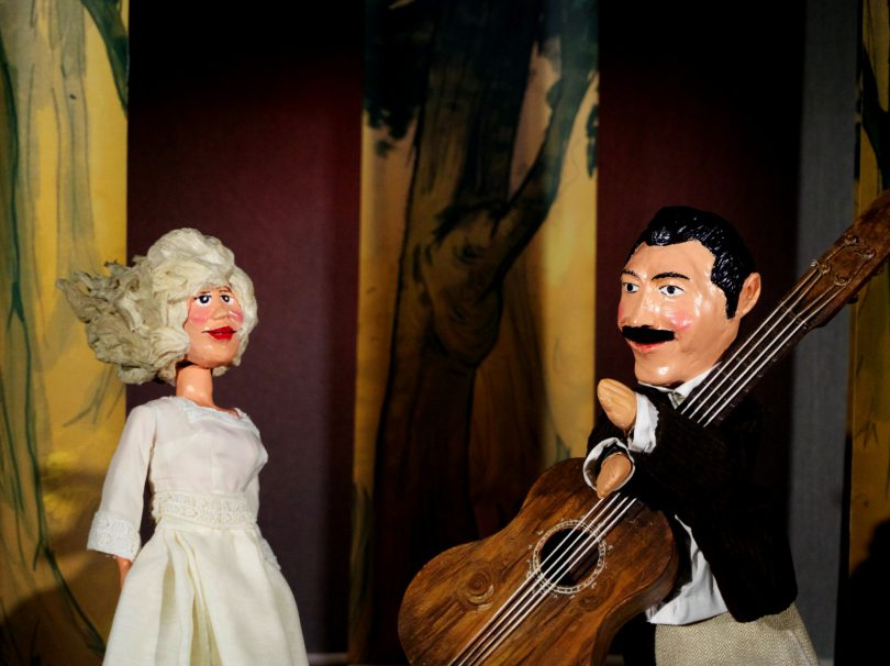 Georges Brassens et sa muse
