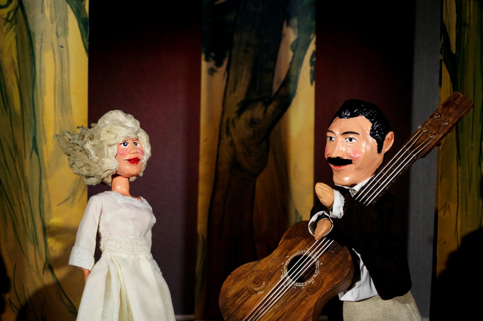 Georges Brassens et sa muse